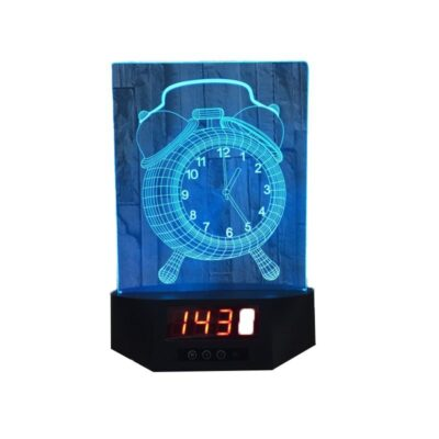 hologram alarm clock