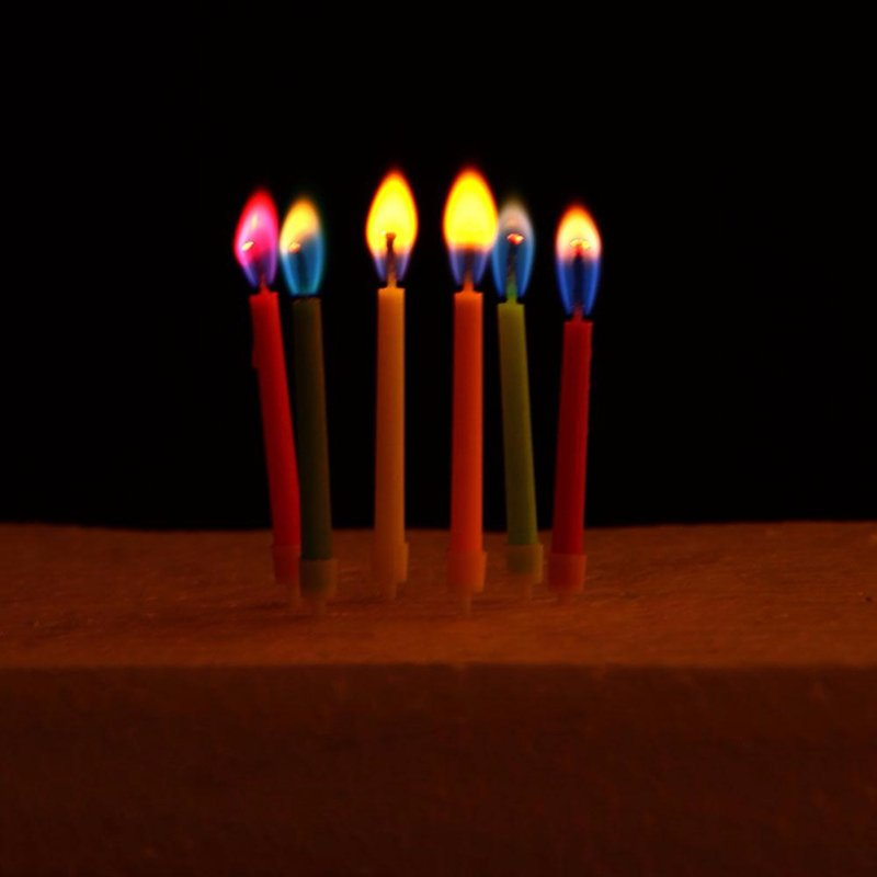 Colored Flame Birthday Candles-up to 80% OFF. Buy from ...