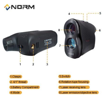 Luxenmart-Pro Laser Rangefinder