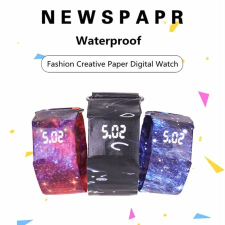 Newspapr Paper Electronic Watch