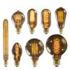Retro Edison Bulb E27 220V 40W ST64 G80 G95 G125 Ampoule Vintage Edison bulb Incandescent Lamp Filament Light Bulb